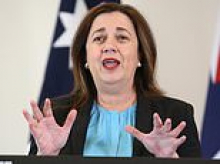 Annastacia Palaszczuk announces she will open up the state before Christmas